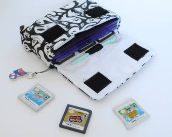 Ghost 3DS / 3DS xL / New 3DS Carrying Case MADE TO ORDER