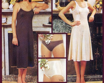 80s Ladies panties and slips vintage 80s Knitwit 5100 sewing pattern Sizes 6 to 22 UNCUT Vera Randall