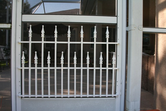 Screen Door Grille, Cottage Collection, Decorative, Protective, Mini  Bungalow Style, Aluminum, Custom Sizes Available From ScreenDoorGrilles On  Etsy Studio