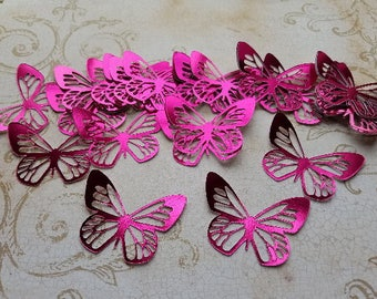 Reflective Butterflies. Card making, confetti, scrapbook decorating, baby shower.   #RC-6