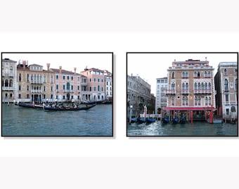 Venice photography, Venice wall art, Travel photography, Gondolas, Italy print, Italy wall art, Venice Canals, Fine Art Print, Italy Print