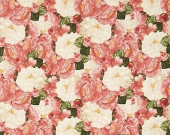 """Timeless Treasures Jessica C3563 Pink Floral  100% cotton 43"""" wide fabric (TT399)"""