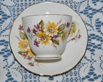 "Beautiful Vintage, Duchess, ""Susie"", Fine Bone China Teacup And Saucer"