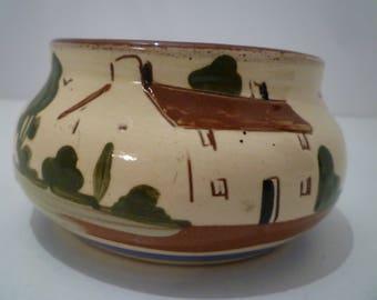 "MOTTO WARE, ENGLAND. Collectible English Motto Ware Bowl. ""Haste Makes Waste"" 1950's Vintage Motto Ware."