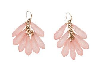 "Earring ""Pink dreams"""