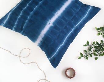 Boho, Dyed Cushion Cover, Shibori Cushion, Decorative Pillow Cover, Throw Cushion Cover