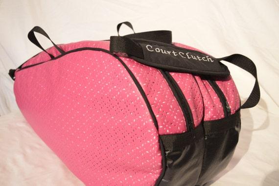 Pink Six Racquet Ladies Tennis Bag