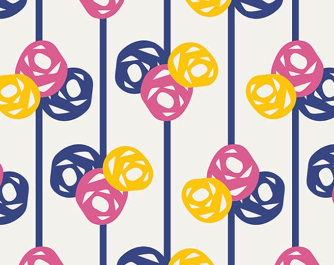 One Yard Gleeful - Lively Buds - Premium Cotton Quilt Fabric - by Sew Caroline for Art Gallery Fabrics - AGF Limited Edition (W1968)
