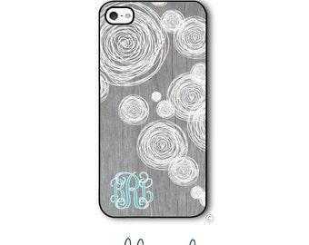 Wood Doodle Phone Case Monogram iPhone 6 Case iPhone 6s Case Samsung Galaxy S5 S6 Case iPhone 5 Case iPhone 6 Plus Case iPhone 5c Style 293