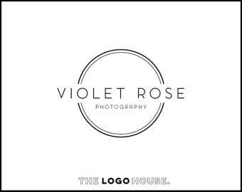 Modern Photography Logo, Camera Lense Logo, Camera Logo Design, Ultra Modern Logo, Modern Premade Logo, Masculine Logo, Aperture Logo Design