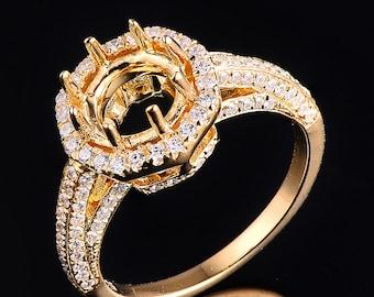 14K yellow golg ring FYR-08072Y