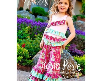 Child's sewing pattern Rosie Posie