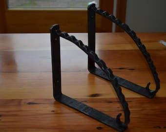 Tree Bark Shelf Brackets