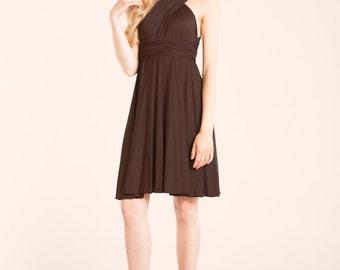 Short Brown Formal Dress