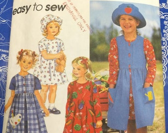 Simplicity children's pattern 7227.  Simplicity easy to sew children's pattern, kids pattern, simplicity pattern
