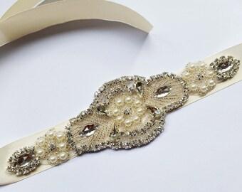 Isabella Bridal Sash Belt