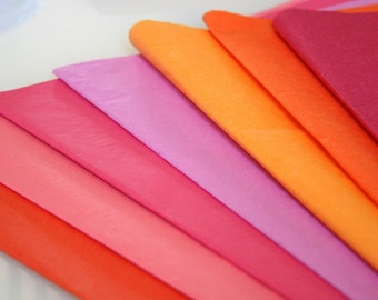 Tissue paper - 10 sheets .. crafting / gift wrap