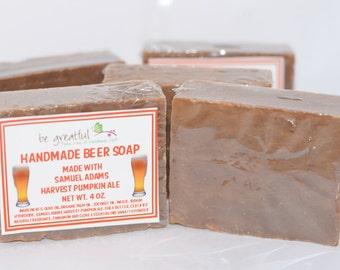Handmade Pumpkin Ale Beer Soap