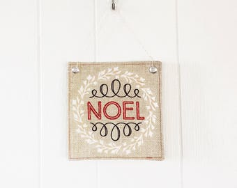 Christmas Wall Hanging Noel