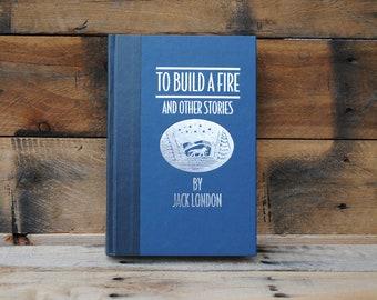 Hollow Book Safe - To Build a Fire - Hollow Secret Book