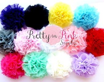 GRAB BAG- Mini Shabby Puffs...You Choose Quantity