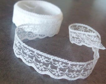 White lace by the yard