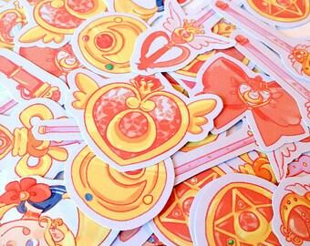 Sticker Sheet - Sailor Moon Accessories
