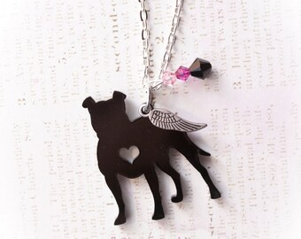 Pitbull Jewelry, Pitbull Necklace
