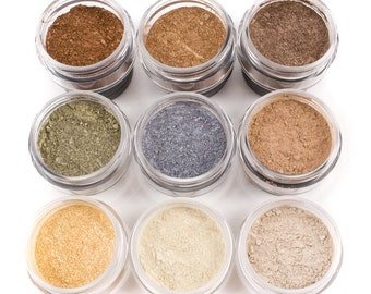 Mineral Eye Shadow - 9pc FALL COLLECTION - Mineral Makeup