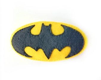 Batman Symbol Cat Toy, Catnip Cat Toy, Felt Cat Toy, Unique Cat Toys, Catnip Toy, Cat Toy