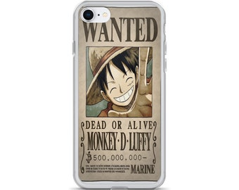 Wanted Luffy iPhone Case