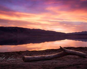 Lake Sunset Landscape Digital Download