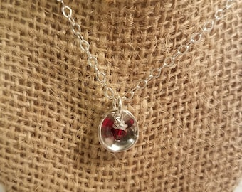 Sterling Silver Mini Spoon Necklace