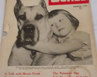Dog World -- magazine -- March 1957 -- 128 Pages plus cover