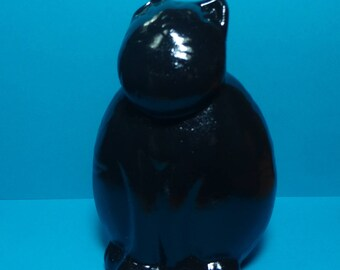 RESCUED! Painted Black CAT Figure