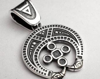 Lunnitsa Pendants, moon talisman, moon jewelry, Silver Pendants, Set Jewelry