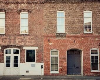 birmingham alabama photography, historic district, downtown birmingham, morris avenue, architecture wall art, door photography