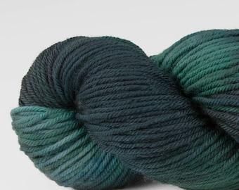 Handpainted DK weight yarn, 100% SW Merino, Spry115, 115 g, Opera House
