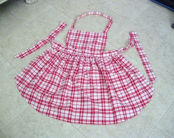 Hand Made Bib Apron-APRON-KITCHEN APRON-