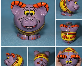 Custom Ceramic Mini Pig (Made to Order)