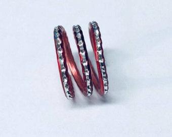 Aluminum-Red-Coil-Ring
