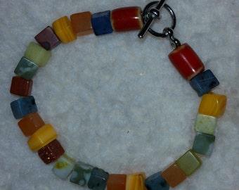 Bead Bracelet by NaKoma Gyrl