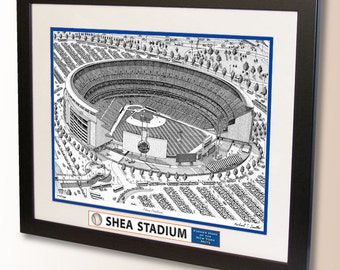 Shea Stadium Art, former home of the New York Mets