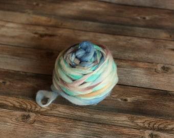 Yarn Destash ~ Hand Spun Thick Thin Yarn