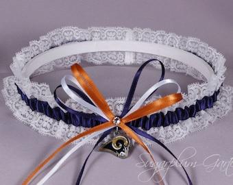 Los Angeles Rams Lace Wedding Garter