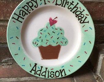Personalized Birthday Plate
