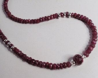 Ruby Necklace   (JK 763)