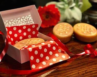 Artisan Silk Paprika soap, Natural soap bar, essential oils soap, Silk soap