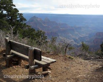 North Rim Grand Canyon Photo Print