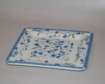 Small bowl with floral pattern-from Tiffani-Italy-20 x 20 cm